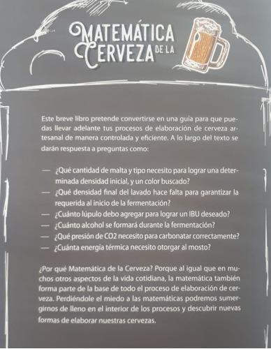 libro matemática de la cerveza