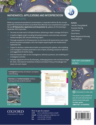 libro matematicas ib: aplicacion e interpre (ingles digital)