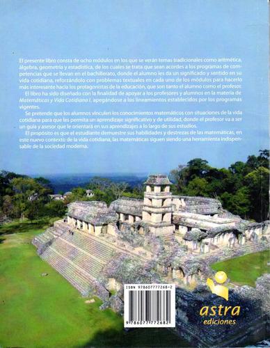 libro matematicas y vida cotidiana astra ediciones año 2010
