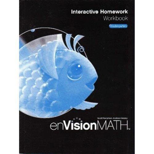 libro math 2009 homework workbook grade k - nuevo