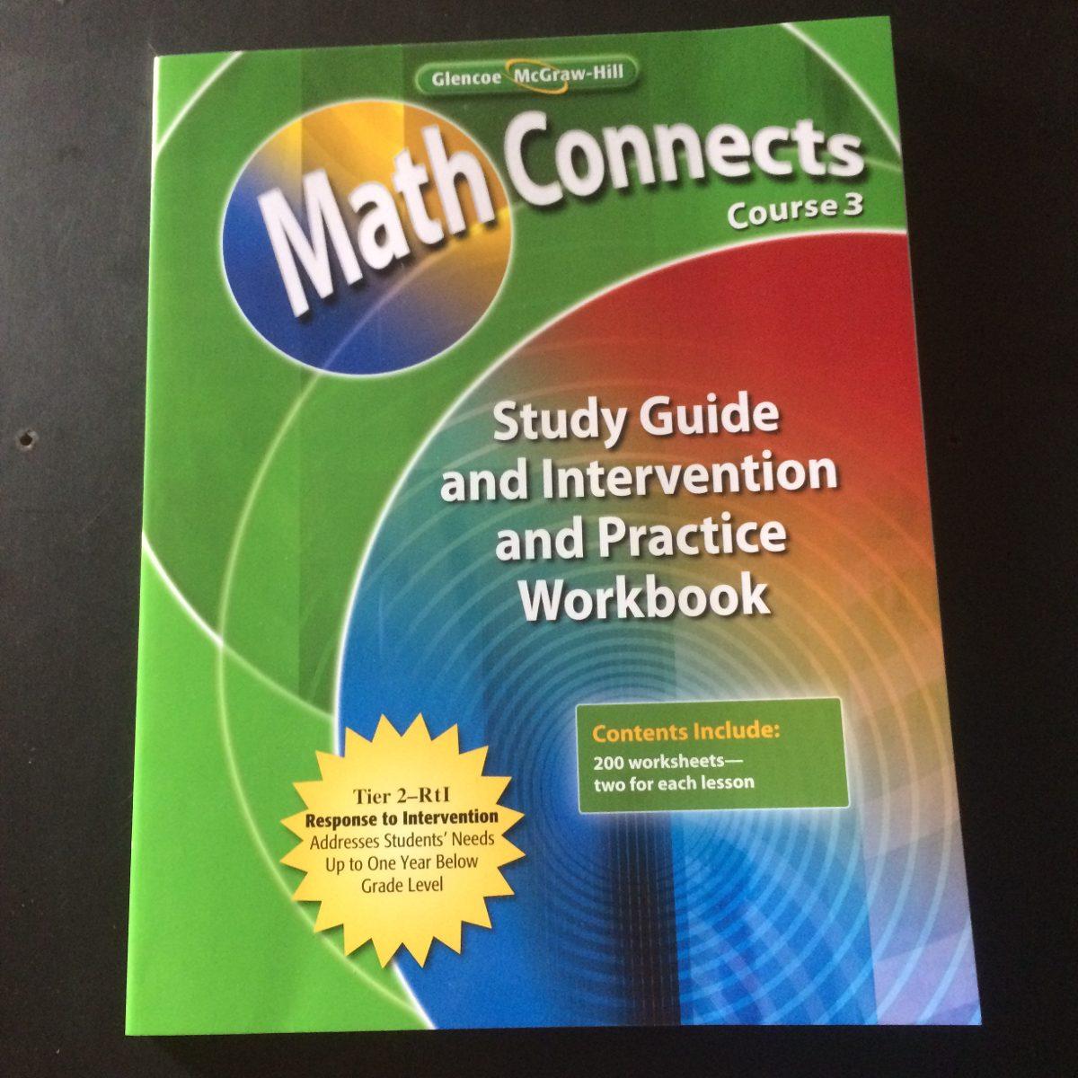 Libro Math Connects Course 2 Y 3 Glencoe Mcgraw Hill - $ 120.00 en ...