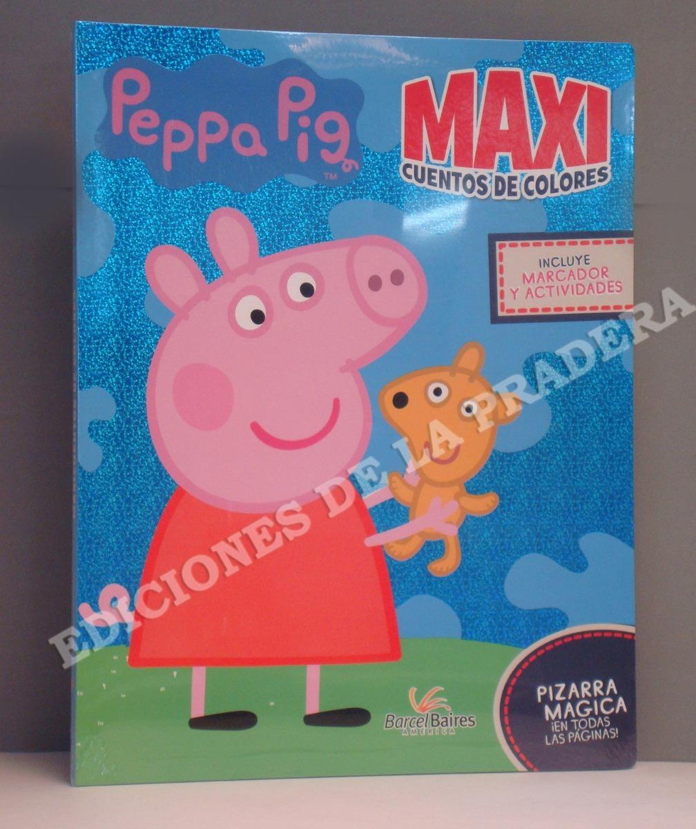 Libro - Maxicuentos De Colores - Peppa Pig - $ 1.100,00 en Mercado Libre