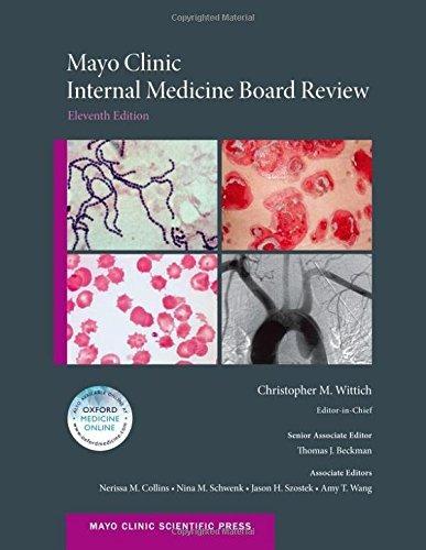 libro mayo clinic internal medicine board review - nuevo
