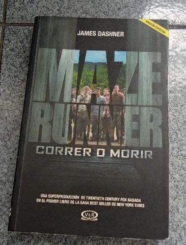 libro maze runner james dashner original