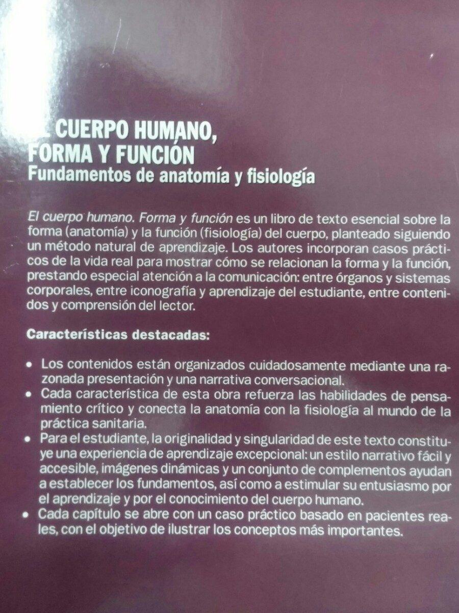 Libro ( Mcconnell ) El Cuerpo Humano, Forma Y Función. - Bs. 3.900 ...