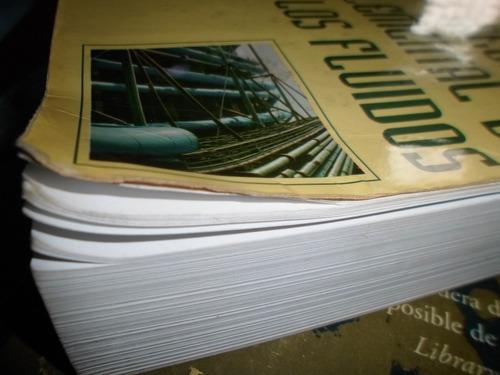 libro mecanica elemental de los fluidos bolinaga usado
