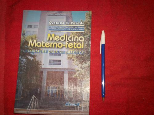 libro medicina materno fetal - osvaldo parada