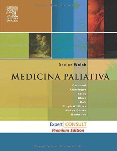 libro medicina paliativa - nuevo