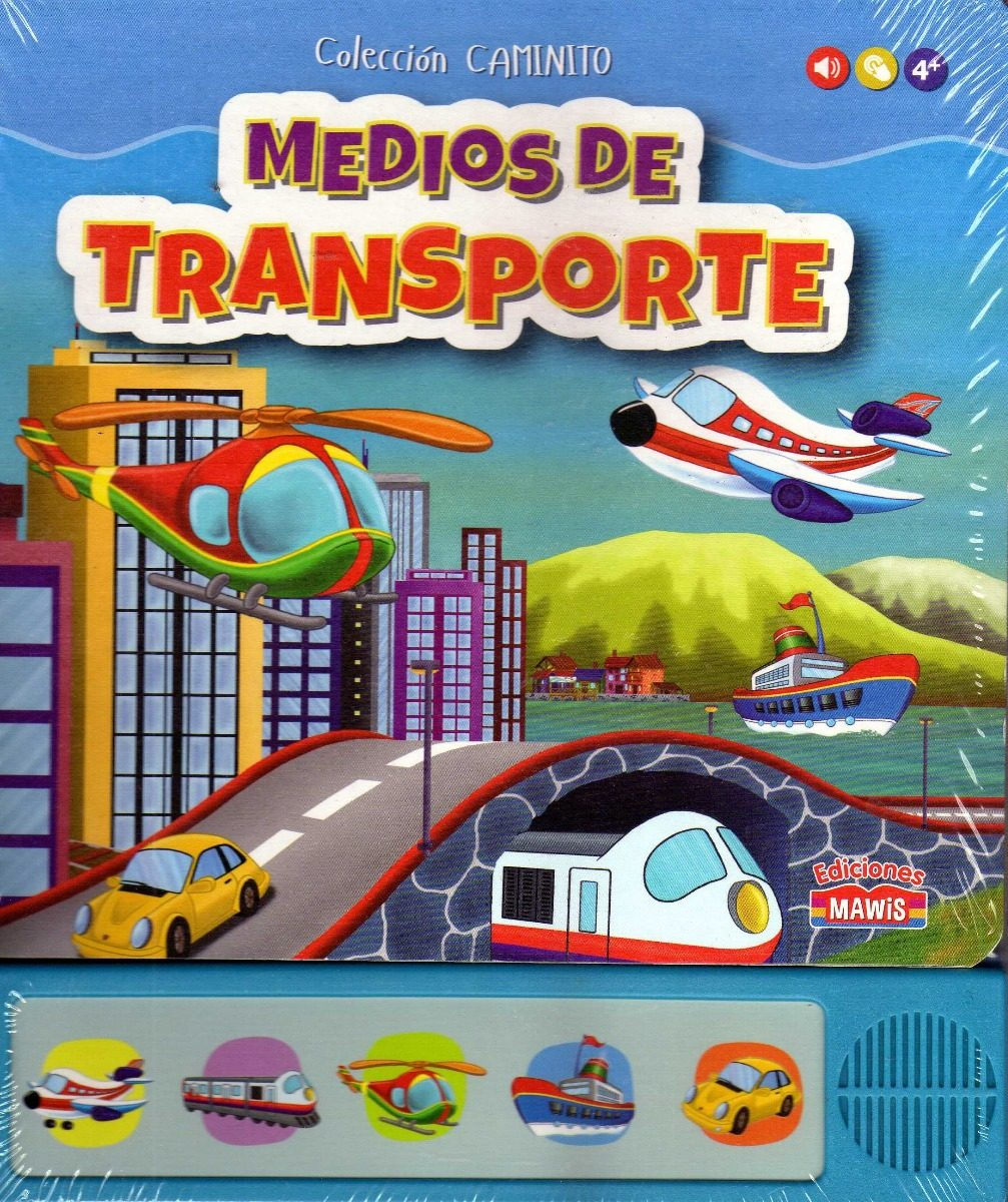 Libro Medios De Transportes Coleccion Caminito Local Devoto -   330 ... 09b1d195341