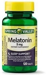 libro melatonina 5mg spring valley nuevo sellado importado