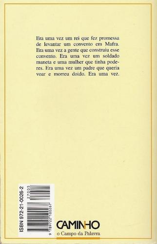 libro, memorial do convento de josé saramago.
