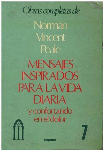 libro, mensajes inspirados para la vida diaria norman peale.