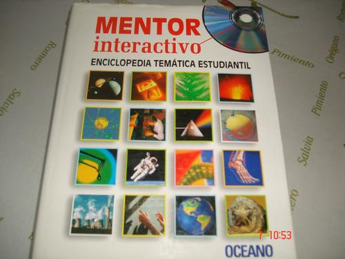 libro mentor interactico, enciclopedia tematica estudiantil