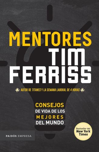 libro mentores -  tim ferris - paidos empresa