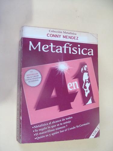 libro metafisica 4 en 1 , conny mendez vol.1  , año 1999 ,