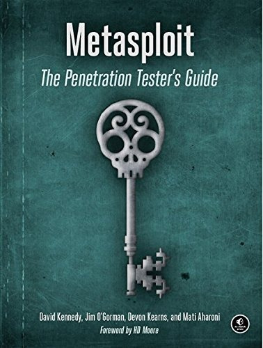 libro metasploit: the penetration tester's guide - nuevo