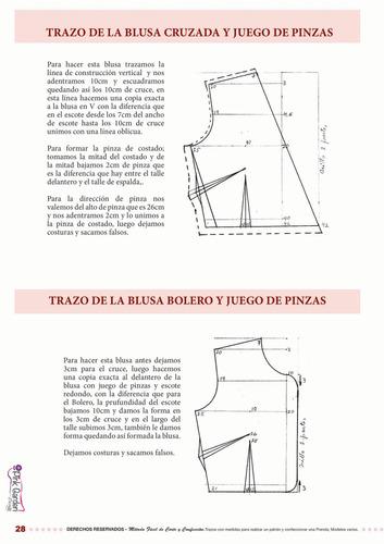 libro - método fácil de corte y confección, modelos varios