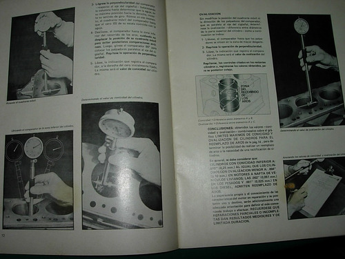 libro metodo reemplazar aros motores federal mogul hastings