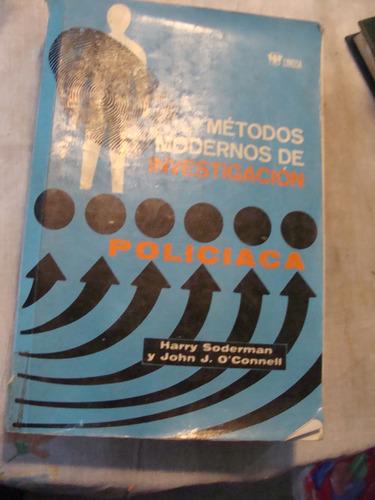 libro metodos modernos de investigacion policiaca harry sode