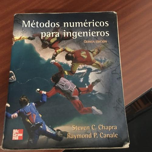 libro: metodos numericos para ingenieros