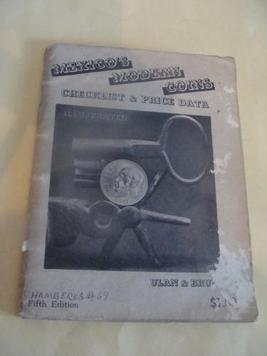 libro mexico modern coins ,  36 paginas