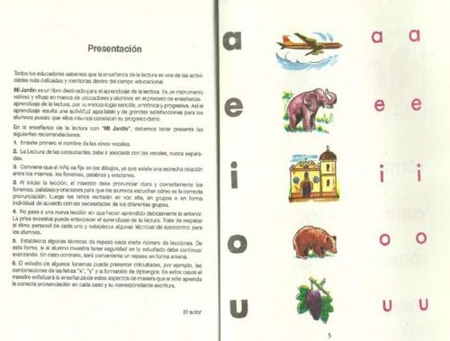 libro mi jardin, version pdf
