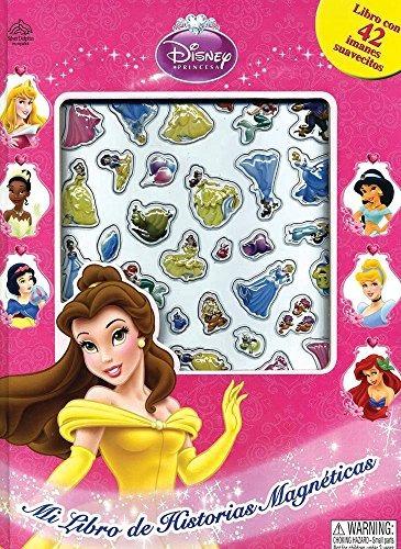 libro mi libro de historias magnéticas: princesas - nuevo
