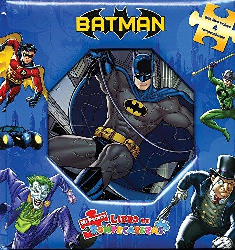 libro mi primer libro de rompecabezas: wb batman - nuevo