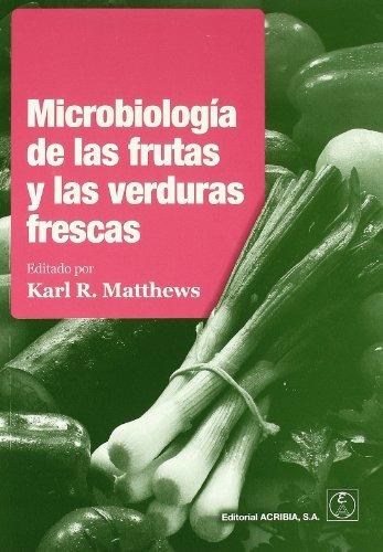 libro microbiología de las frutas y las verduras frescas