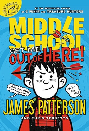 libro middle school: get me out of here! - nuevo