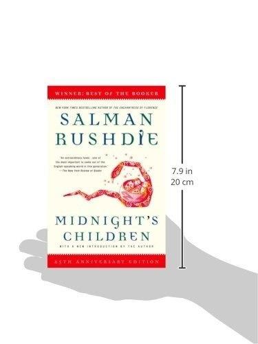 libro midnight's children - nuevo