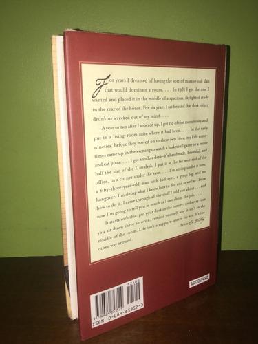 libro, mientras escribo de stephen king, en inglés tapa dura