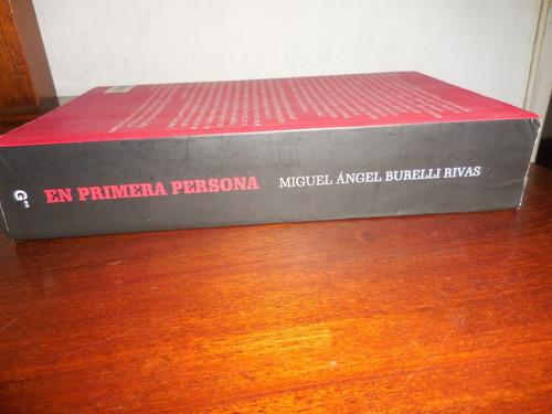 libro miguel angel burelli rivas en primera persona memorias