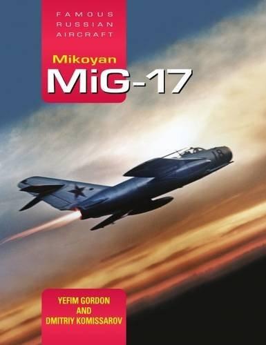 libro mikoyan mig-17 - nuevo