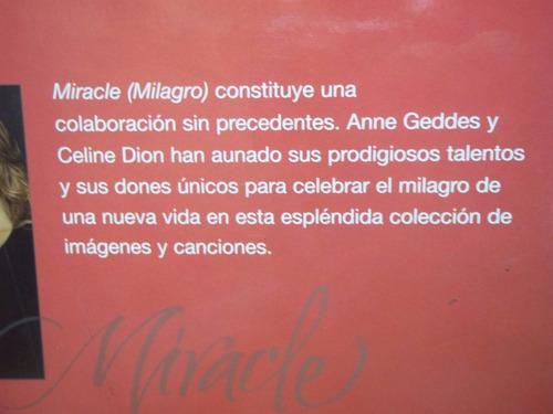 libro milagro - celebracion de una nueva vida celine dion
