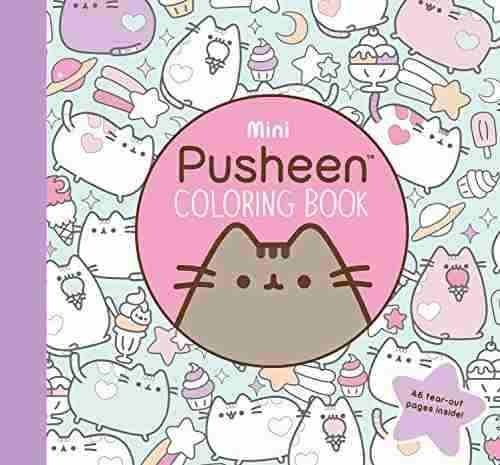 Libro Mini Pusheen Coloring Book - Nuevo - $ 520.00 en Mercado Libre