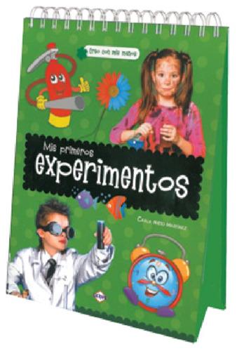 libro mis primeros experimentos