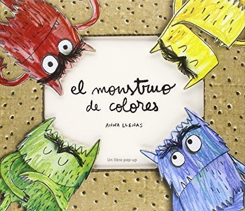 libro: monstruo de colores - pop up ( anna llenas)