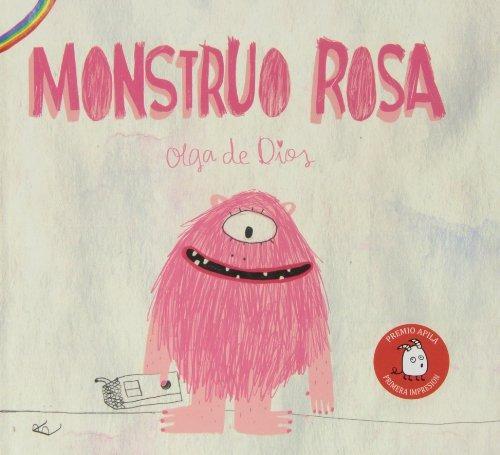 libro : monstruo rosa  - olga de dios ruiz