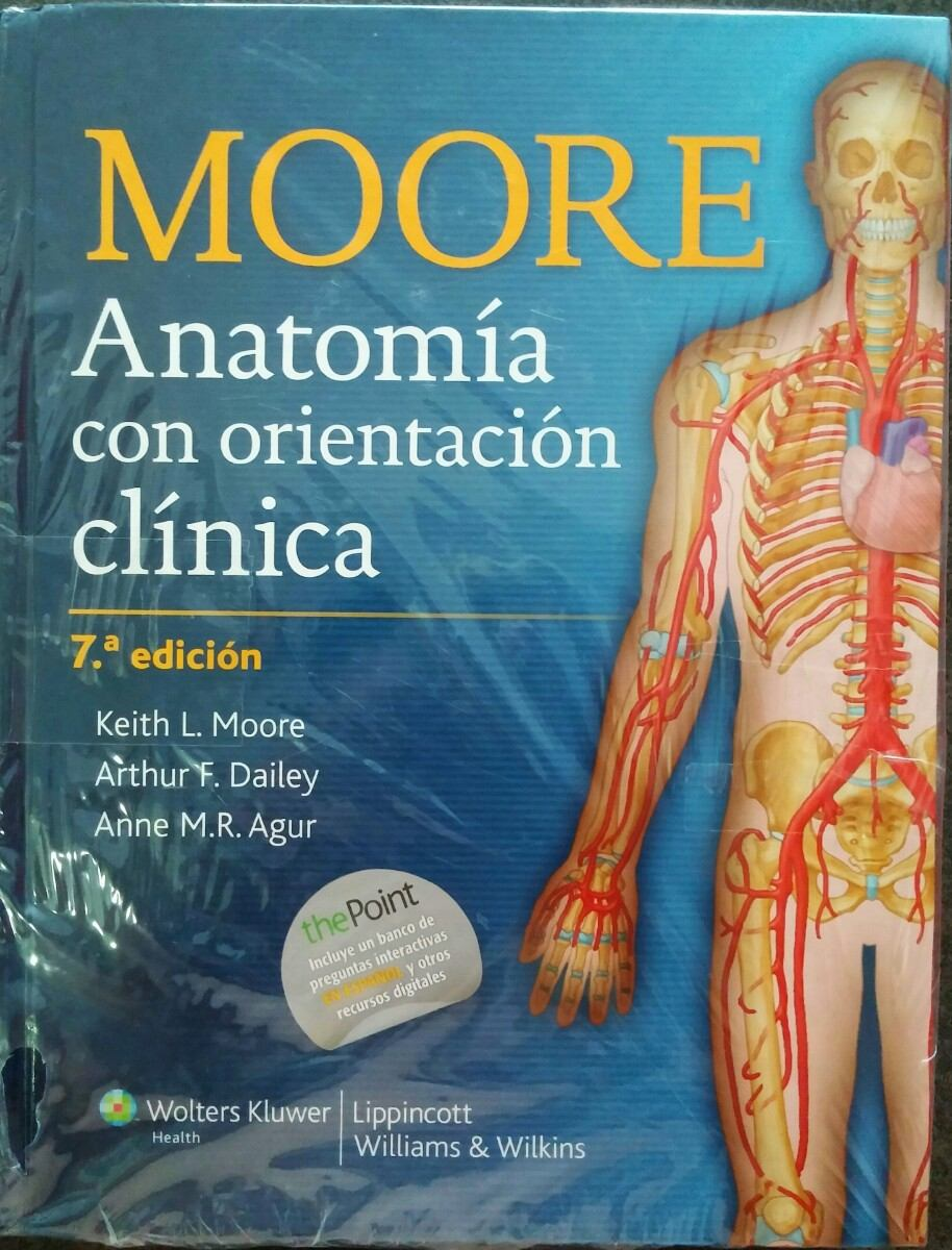 Libro ( Moore ) Anatomia Con Orientación Clínica. - Bs. 186,00 en ...