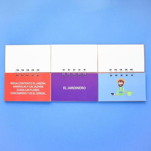 libro móvil de cuentos + libro móvil de adivinanzas