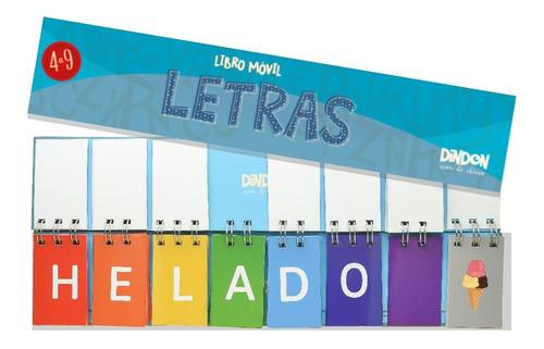 libro móvil de letras + libro móvil de sílabas de 3