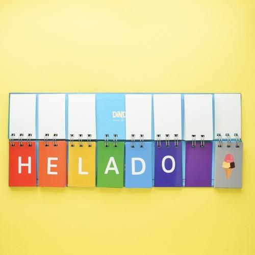 libro movil de letras - material didáctico montessori