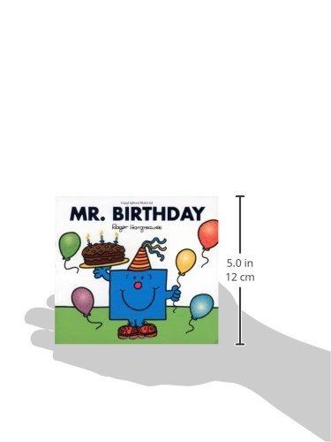 libro mr. birthday - nuevo