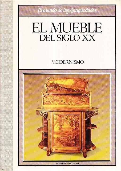 Libro Mueble Siglo Xx Modernismo Antigüedades Anticuarios - $ 480,00 ...