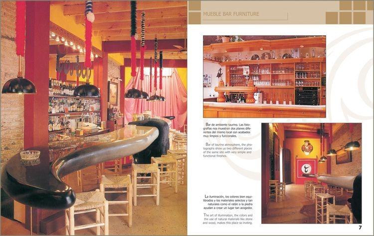 Libro muebles para cantinas y bares mobiliario arquitectura 1 en mercado libre - Mobiliario de bares ...