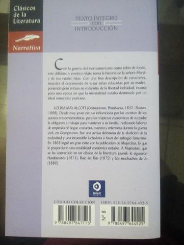 libro mujercita de louisa may alcott