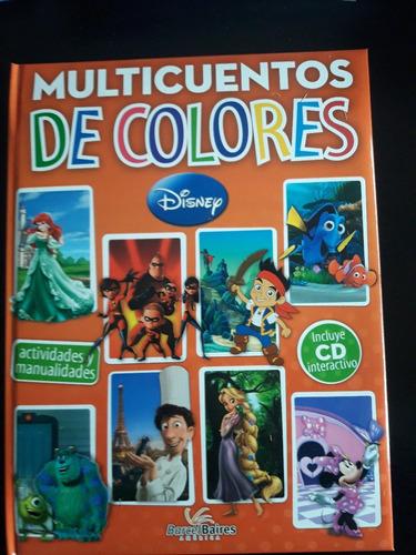 libro multicuentos de colores 2 disney