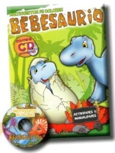 libro: multicuentos de colores bebesaurios, envío gratis