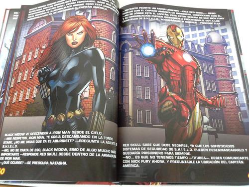 libro  multicuentos de colores marbel avengers